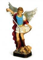 Statua San Michele Arcangelo in materiale infrangibile cm 20 di  su LibreriadelSanto.it