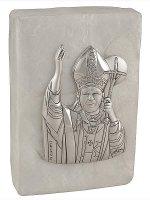 Scatola in madreperla con Giovanni Paolo II