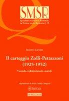 Il Carteggio Zolli-Pettazzoni (1925-1952) - Alberto Latorre
