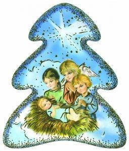 Copertina di 'Alberello di Natale con supporto'