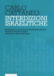 Copertina di 'Interdizioni israelitiche'