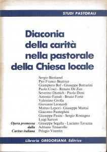 Copertina di 'Diaconia della carità nella pastorale della Chiesa locale'