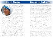 Immagine di 'Libretto Rosario Madre Teresa di Calcutta con coroncina'