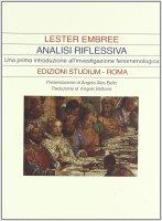Analisi riflessiva - Embree Lester