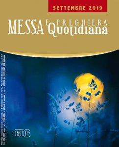Copertina di 'Messa e preghiera quotidiana. Settembre 2019'