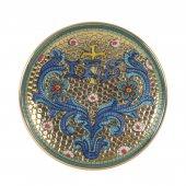 """Patena in ceramica con simbolo IHS """"Modello Bizantino"""" - 15 cm"""