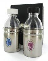 Astuccio ( kit celebrazione messa) rigido e 2 bottiglie - 125 cc