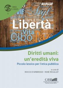 Copertina di 'Diritti umani: un'eredità viva'