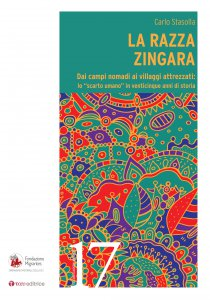 Copertina di 'La razza zingara'