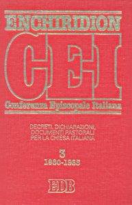 Copertina di 'Enchiridion CEI. 3'