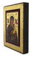 Immagine di 'Icona Perpetuo Soccorso (Madonna della Passione), produzione greca su legno - 14 x 11,5 cm'