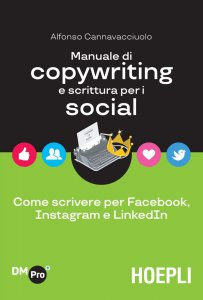 Copertina di 'Manuale di copywriting e scrittura per i social'