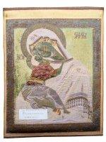 """Immagine di 'Arazzo sacro """"Madre di Dio della Tenerezza"""" - dimensioni 47x35 cm'"""