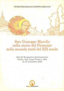 Copertina di 'San Giuseppe Marello nella storia del Piemonte nella seconda metà del XIX secolo'