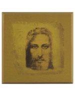 Sindone (sfondo oro) di  su LibreriadelSanto.it