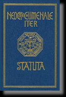 Statuta - Neocatechumenale Iter. Statute Neocatechumenal Way - AA.VV.