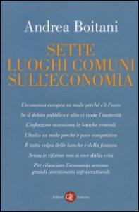 Copertina di 'Sette luoghi comuni sull'economia'
