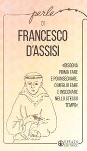 Copertina di 'Perle di Francesco d'Assisi'