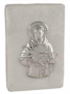 Copertina di 'Scatola in madreperla con San Francesco'