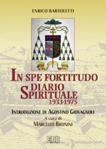 Copertina di 'In spe fortitudo'