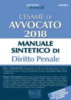 L'Esame orale di Avvocato 2018 Manuale sintetico di Diritto Penale - Parte generale - Parte speciale - Redazioni Edizioni Simone