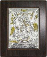 Quadro Maria che sciogle i nodi in Argento 925 - Bassorilievo - 6,5 x 5 cm