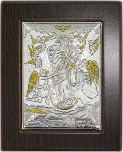 Copertina di 'Quadro Maria che sciogle i nodi in Argento 925 - Bassorilievo - 6,5 x 5 cm'