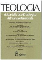 Teologia 2/2020. Rivista della Facoltà Teologica Interregionale