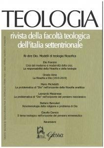 Copertina di 'Teologia 2/2020. Rivista della Facoltà Teologica Interregionale'