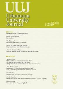 Copertina di 'Urbaniana University Journal . 1/2020: La chiesa locale e l'agire pastorale'