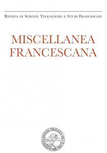 Miscellanea Francescana 2010 - n. I-II