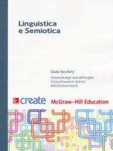 Copertina di 'Linguistica e semiotica'