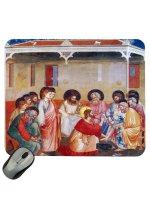 """Mousepad """"Gesù lava i piedi agli apostoli"""" - Giotto"""