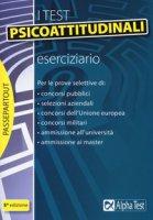 I test psicoattitudinali. Eserciziario - Bianchini Massimiliano, Pavoni Vincenzo, Sironi Renato