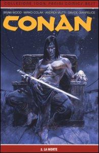 Copertina di 'La morte. Conan'