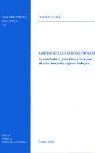 Copertina di 'Assenso reale e scienze profane'