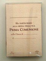 """Immagine di 'Croce """"Prima Comunione"""" - dimensioni 11,5 x8,5 cm'"""