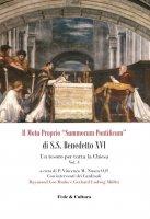 Il Motu proprio «Summorum Pontificum» di S.S. Benedetto XVI. Una speranza per tutta la Chiesa