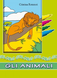 Copertina di 'Coloro gli animali'