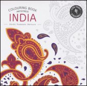 India. Colouring book antistress