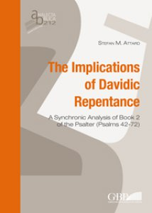 Copertina di 'The Implications of Davidic repentance'