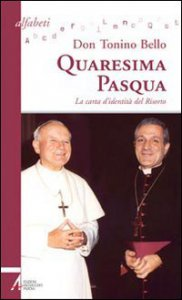Copertina di 'Quaresima - Pasqua. La carta d'identità del Risorto'