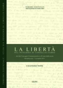 Copertina di 'La Libertà nel pensiero di Cornelio Fabro'