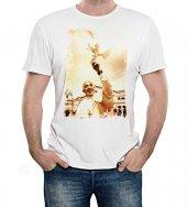 T-shirt Papa Francesco con colomba - taglia S - uomo