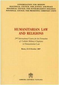 Copertina di 'Humanitarian Law and Religions'
