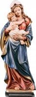 Statua della Madonna Tirolese in legno di tiglio dipinto a mano, linea da 60 cm - Demetz Deur