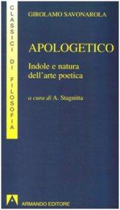 Copertina di 'Apologetico. Indole e natura dell'arte poetica'