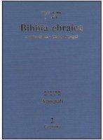 Bibbia ebraica. Agiografi