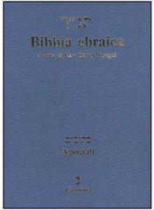 Copertina di 'Bibbia ebraica. Agiografi'