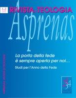 Atto di fede e martyria - Antonio Ascione
